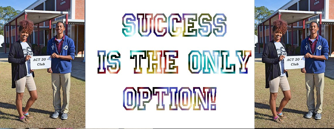 Success is the only option!