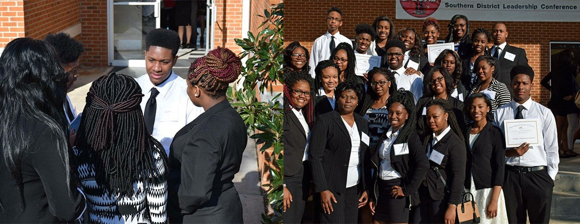 Students Attend Southern District Leadership Conference