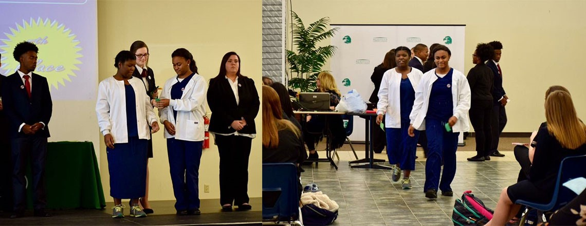 Two HOSA Students Advance to State Competition... Congratulations!
