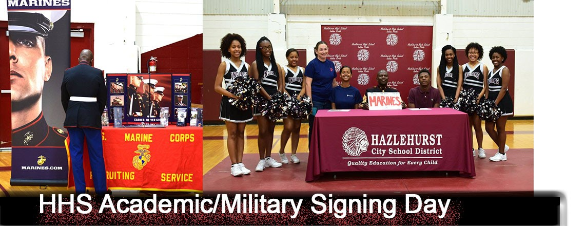 HHS Signing Day Academic/Military