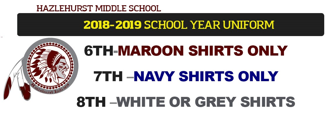 2018-2019 School Year Uniform