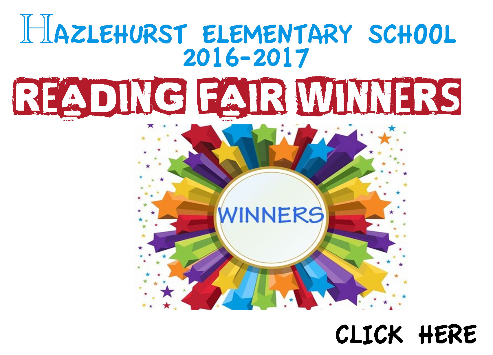 Elementary Reading Fair Winners