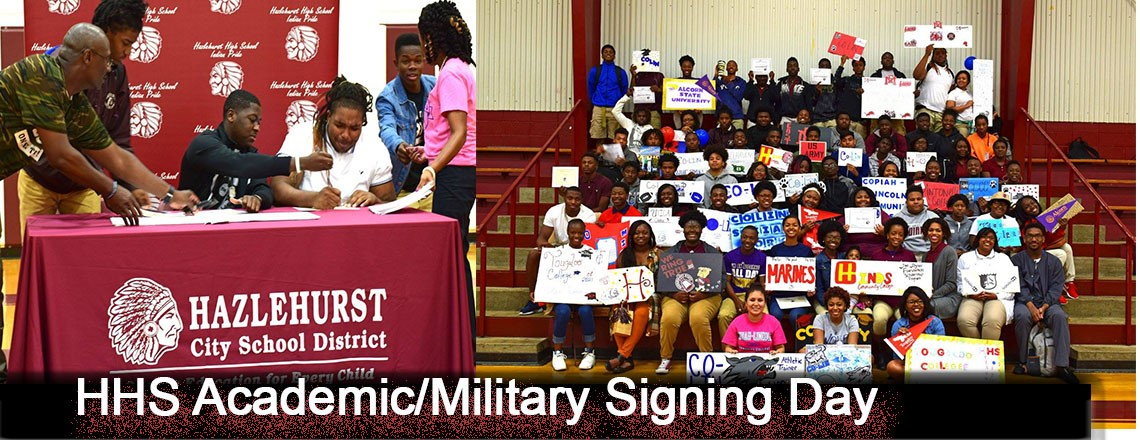 HHS Academic/Military Signing Day