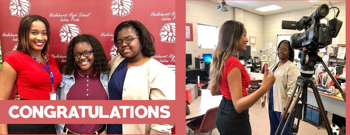 "Daudreanna Baker of Hazlehurst High School is the winner of the 2018 Tom Joyner Foundation® ""Full Ride Scholarship"""