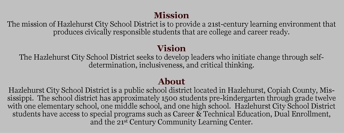 Home - Hazlehurst City School District